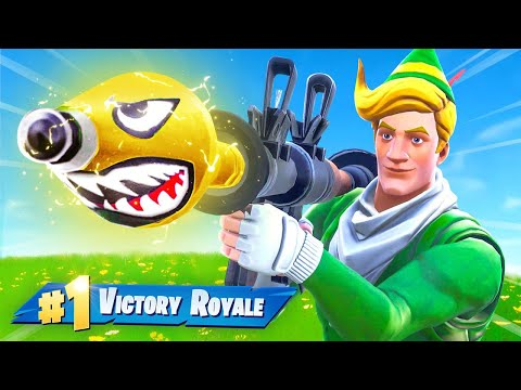 Fortnite But EVERYTHING is GOLD