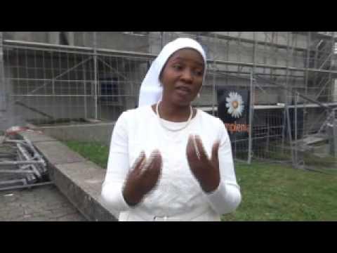 Ex Soeur Virginie Catholique temoigne Papa Simon kimbangu mangudivideo