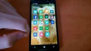 Desktop Launcher Windows Phone alkalmazás bemutató videó