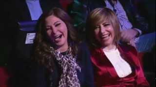 اليسا مع باسم يوسف في برنامج البرنامج Elissa