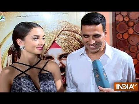 Xxx Mp4 Singh Is Bliing Akshay Kumar Amy Jackson Exclusive Interview India TV 3gp Sex