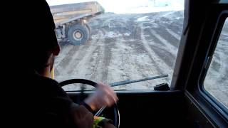 Quick Tour In A Cat 773B Haul Truck