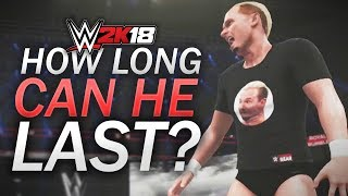 HOW LONG CAN JAMES ELLSWORTH LAST IN THE ROYAL RUMBLE? (WWE 2K18 Challenges)
