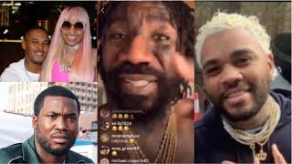 Boskoe100 Clowns Kevin Gates - Compares Nicki Minaj Boyfriend vs Meek Mill & Goals for 2019