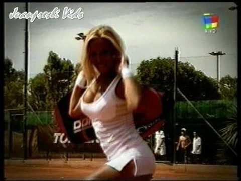 Clip erotico de Natalia Dulfo tenista sexy