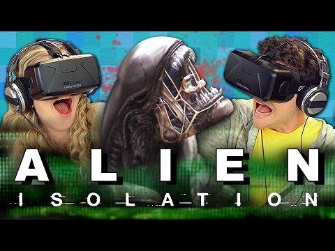 OCULUS RIFT ALIEN ISOLATION SURVIVOR MODE Teens React Gaming