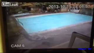 Phillipines Earthquake EXPLODES Pool!! 2013