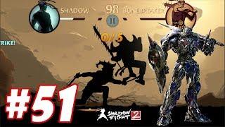 Shadow Fight 2 : Song đao máy móc Transformers tuyên chiến võ lâm #51