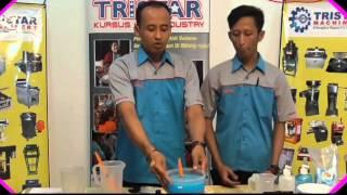 video tutorial bath foam sabun mandi cair