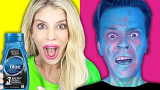 PRANKING MY HUSBAND for 24 Hours at the Safe House! (Best DIY Pranks) | Rebecca Zamolo