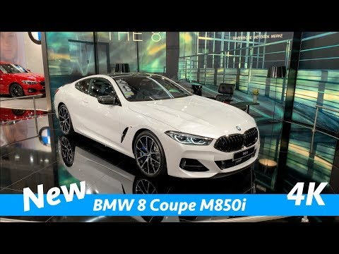 BMW 8 Coupé M850i 2019 first exclusive quick look in 4K