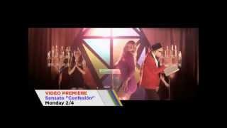 Sensato Ft Pitbull-La Confesión Official Video Trailer(www.SensatosWorld.com)