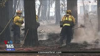 جزئیاتی از ادامه آتش سوزی بزرگ کالیفرنیا و مرگ ۶۶ نفر