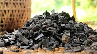 Primitive Skills: Reusable charcoal mound