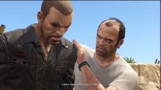 GTA V: Trevor Kills Johnny Klebitz From GTA 4 Lost and Damned