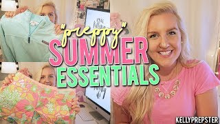 PREPPY SUMMER ESSENTIALS 2017!! Collab with MISSANNAGRACE || Kellyprepster