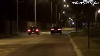 Chen's Big Turbo EVO vs E85 GTR HEADS UP