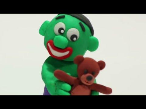 Xxx Mp4 Baby Hulk Nostalgy 💕 Superhero Play Doh Stop Motion Movie 3gp Sex