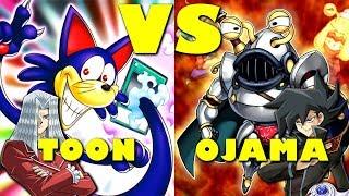 Real Life Yugioh - TOON vs OJAMA | December 2017 Scrub League