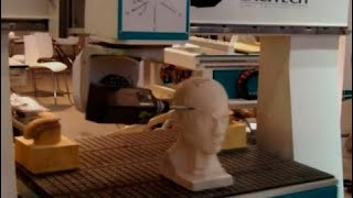 [Technology Video] 5 Axis Cnc Machines Router Head/head