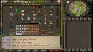 Bank Was Made! - RS07 - DAY 18!!!! Mon - Progression Video - The Brua