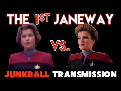 1st Capt. Janeway Star Trek Voyager Genevieve Bujold vs. Kate Mulgrew