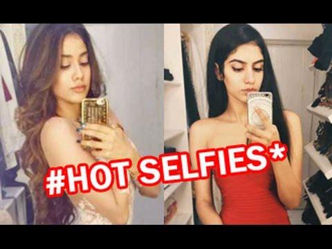 Watch Sridevi's daughters Janhvi & Khushi's Selfies | Hot Bollywood News | Boney Kapoor