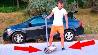 😱How to make a Hoverboard 😱SEGWAY😱