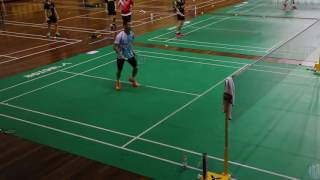 Lee Chong Wei training footwork badminton 2015