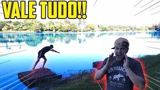 VALE TUDO PARA NAO PULAR NO LAGO!! - VALE TUDO