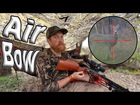 Xxx Mp4 Deer Hunting With The AirBow Air Rifle Day 18 Of 30 Day Survival Challenge Texas 3gp Sex