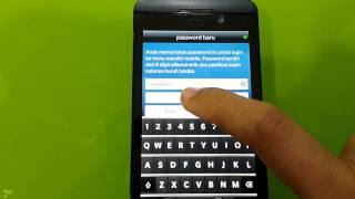 Cara download mandiri mobile di Blackberry 10