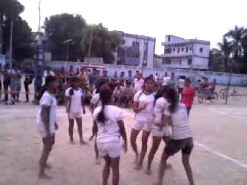 Girls kabaddi turnament in akshay bat hajipur