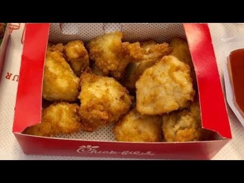 Why There s A Hole In The Chick Fil A Nugget Box
