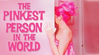 The PINKEST Person in the WORLD!