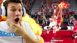 *DONT JUMP* MICHAEL JORDAN ENDED HIS LIFE WITH THIS DUNK! OMG!! NBA 2K18