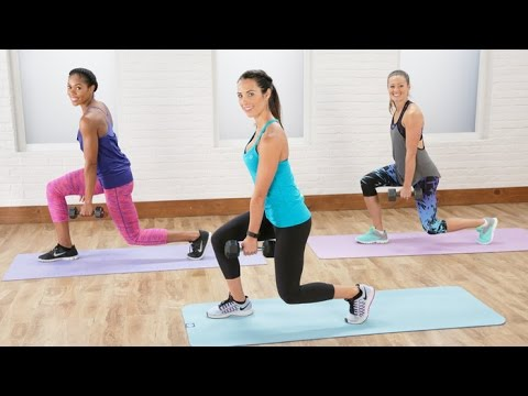 20 Minute Total Body Sculpt and Tone Workout with Autumn Calabrese Class FitSugar