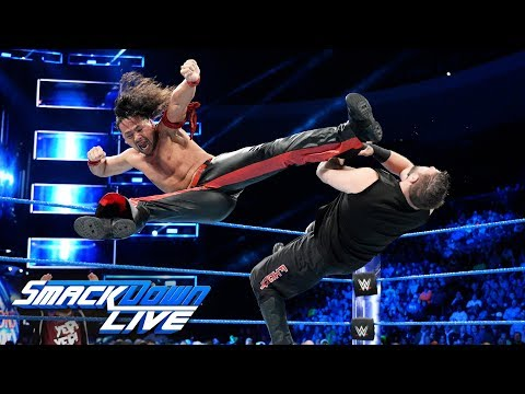 Xxx Mp4 Nakamura And Owens Collide With Daniel Bryan Watching SmackDown LIVE Dec 12 2017 3gp Sex