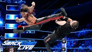 Nakamura and Owens collide with Daniel Bryan watching: SmackDown LIVE, Dec. 12, 2017
