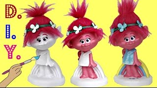 D.I.Y. POPPY Paint Your Own Bank! Easy Kid Craft & Fun Activity