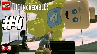 LEGO The Incredibles - ELASTIGIRL ON THE CASE - PS4 Pro Walkthrough Gameplay Part 4
