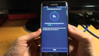 Samsung  Galaxy S6 EDGE+ SM-G9287 silver test 1
