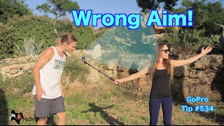 GoPro: How To Avoid Wrong Aiming - GoPro Tip #534