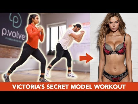 Trying The Victoria s Secret Model P. Volve Workout