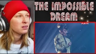 GERPHIL FLORES - THE IMPOSSIBLE DREAM ( Grand final 1 )| REACTION