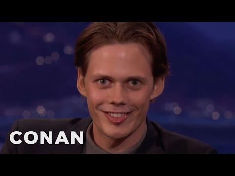 """Bill Skarsgård s Demonic """"IT Smile CONAN on TBS"""