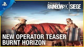 Rainbow Six Siege: Operation Burnt Horizon - New Operator Teaser   PS4
