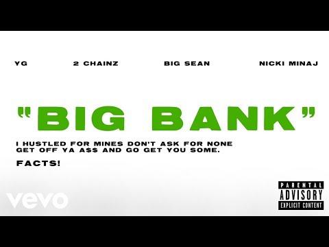 YG Big Bank Audio ft. 2 Chainz Big Sean Nicki Minaj