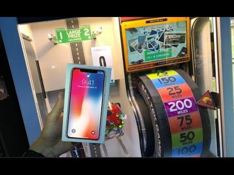 Won Apple iPhone X From Arcade Game JOYSTICK