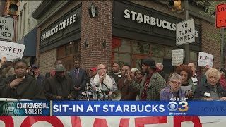 Starbucks: Manager No Longer Works At Rittenhouse Square Store Following Viral Video Of Arrests
